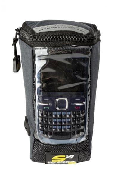 Arsenal Brašna na řidítka s kapsou pro mobil (art.500)