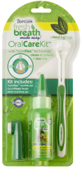 TropiClean Oral Kit Medium/Large – gel s kartáčky