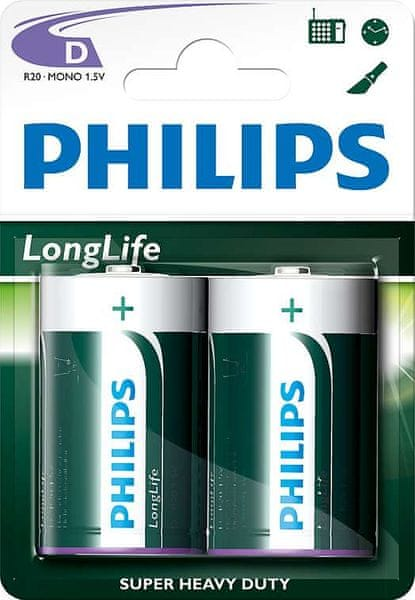 Philips D 2ks LongLife (R20L2B/10)
