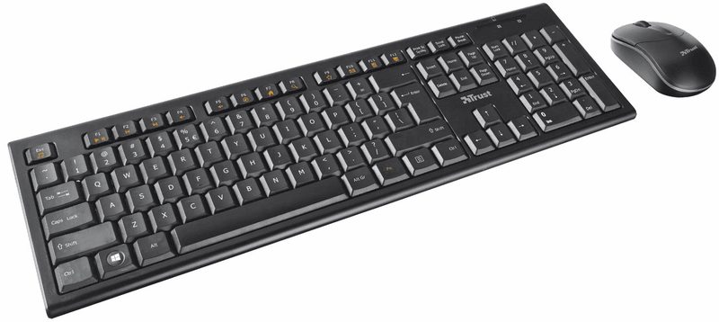 Trust Nola Wireless Keyboard with mouse (18768)