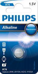 PHILIPS LR44 Alkáli gombelem (A76/01B)