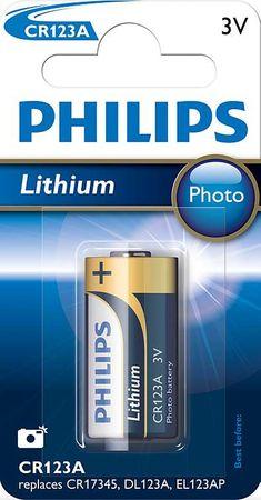 Philips bateria (CR123A/01B)