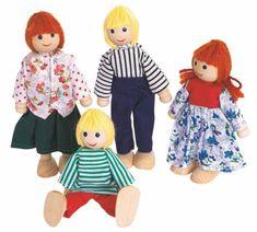 Woody Bábiky do domčeka, 4ks