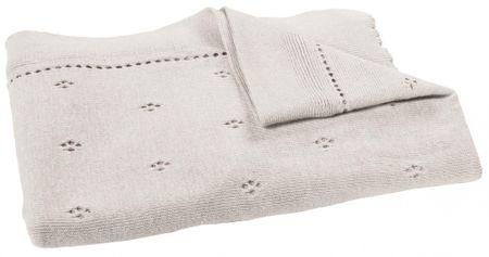 Candide Mon petit manège kötött takaró 70 x 100 cm
