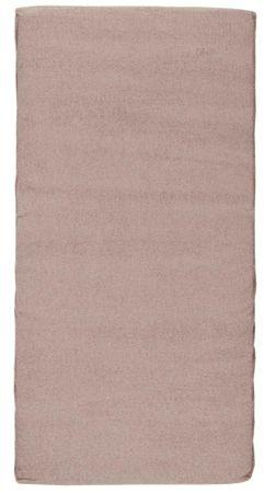 Candide Materac podróżny frotte 120x60 cm, brązowy