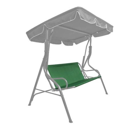 Happy Green tekstylne siedzisko na huśtawkę, ciemnozielone
