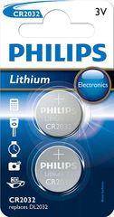 Philips CR2032 2ks Lithium (CR2032P2/01B)