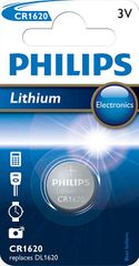 Philips Bateria CR1620 1 szt Lithium (CR1620/00B)
