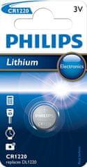 PHILIPS CR1220 Lithium Gombelem (CR1220/00B)