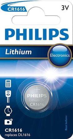 Philips bateria litowa Lithium CR1616/00B