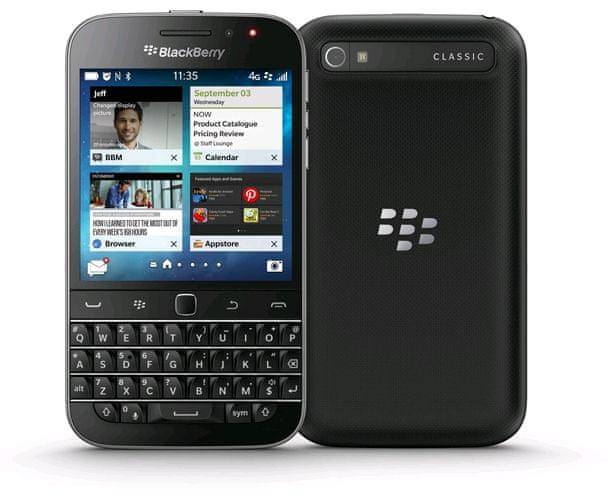 BlackBerry Classic QWERTY, černý
