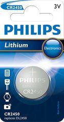 PHILIPS CR2450 Lithium Gombelem (CR2450/10B)