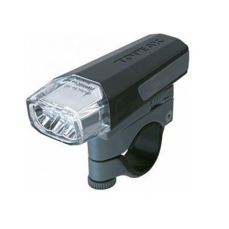 Topeak sprednja lučka WhiteLite HP Beamer, črna