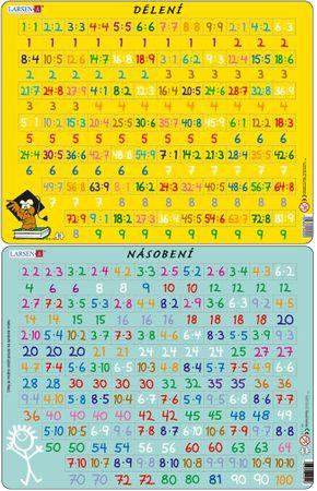 LARSEN Maxi puzzle 81 db-os Szorzás AR1