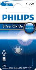 Philips 377 1ks Silver Oxide (377/01B)