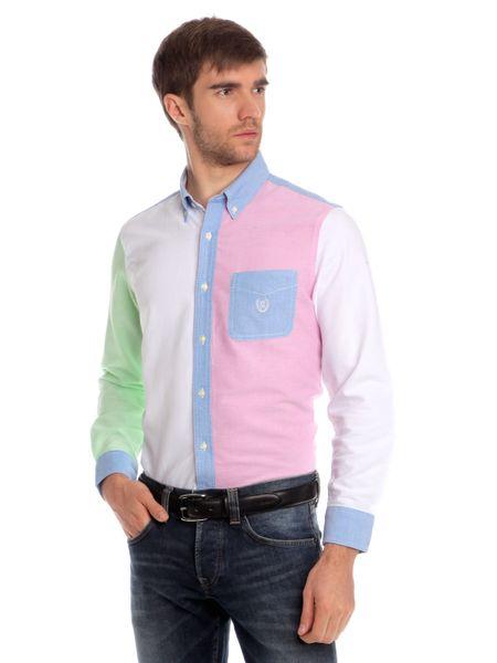 Chaps vícebarevná pánská košile M vícebarevná