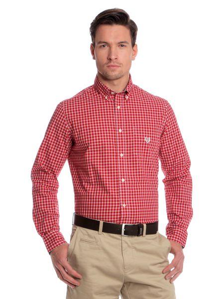 Chaps pánská košile kostičkovaného vzoru XXL červená