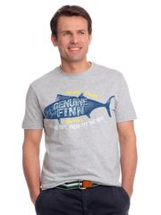 Chaps pánské tričko s potiskem ryby