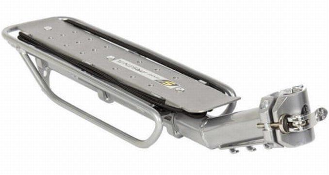 Arsenal Hliníkový nosič pod sedlo (art. 209S) stříbrný