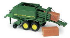BRUDER Farmer - balíkovač John Deere