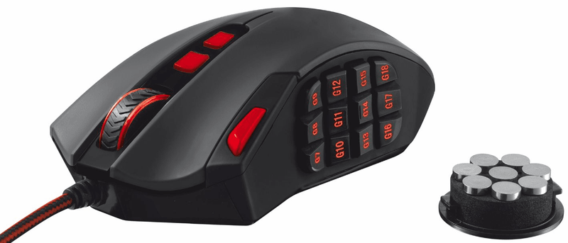 Trust GXT 166 MMO Gaming Laser Mouse (19816)