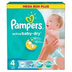 Pampers Active Baby 4 Maxi pelenka - 147 db