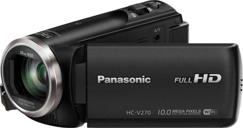 Panasonic HC-V160EP černá - II. jakost