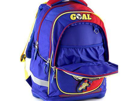 Target Školní batoh Goal červeno modrý  8f6854978a