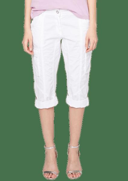 s.Oliver dámské bavlněné kraťasy 46 bílá
