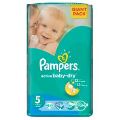 Pampers Active Baby 5 Junior (11-18kg) Giant Pack - 64ks