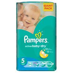 Pampers Active Baby 5 Junior (11-18kg). 64 sztuk