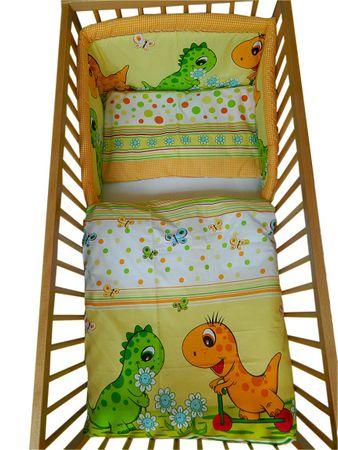 COSING 3-delni komplet posteljnine, Comfort Dinozaver