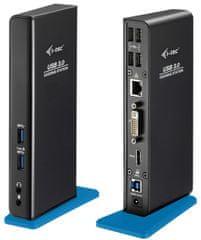 I-TEC USB 3.0 Dualní dokovací stanice Advance + USB nabíjecí port (U3HDMIDVIDOCK)