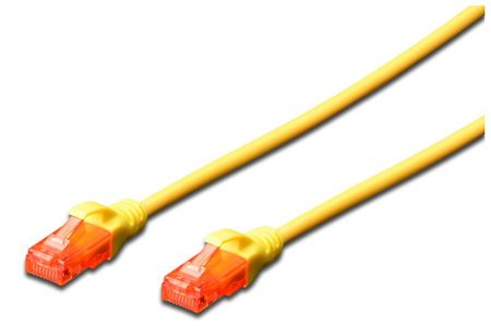 Digitus mrežni kabel UTP CAT.6 Patch, 2m, rumen