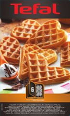 TEFAL XA 8006 ACC Snack Collection Heartwaffles Gofrisütő lap outlet