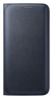 Samsung flipové pouzdro s kapsou, Galaxy S6 EDGE, černý