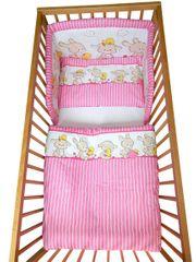 COSING 3-delni set Comfort posteljnina Zajčki