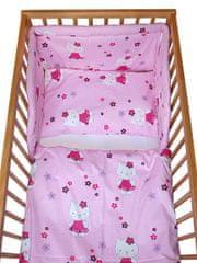 COSING 3-delni komplet posteljnine, Comfort Mačke, roza