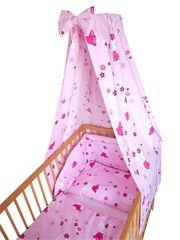 COSING 4-delni komplet posteljnine, Comfort Mačke, roza