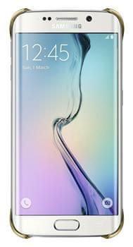 Samsung Kryt Galaxy S6 Edge, stříbrná - II. jakost