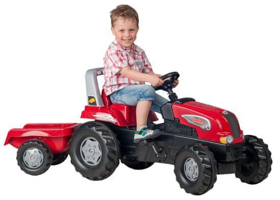Rolly Toys traktor s prikolicom Junior