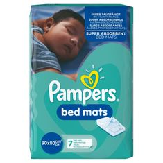 Pampers Dětské podložky do postele - 7 ks