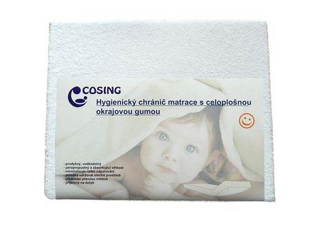 COSING Hygienický chránič matrace 60x120cm, bílá