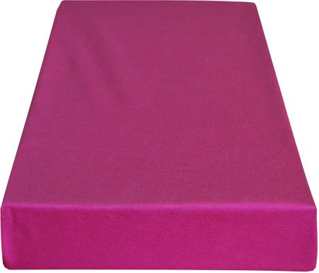 Greno rjuha Jersey, 180 x 200 cm, roza