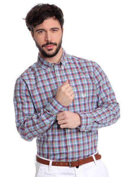 Chaps pánská kostičkovaná košile s dlouhým rukávem XXL vícebarevná