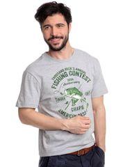 Chaps pánské tričko s rybářským potiskem