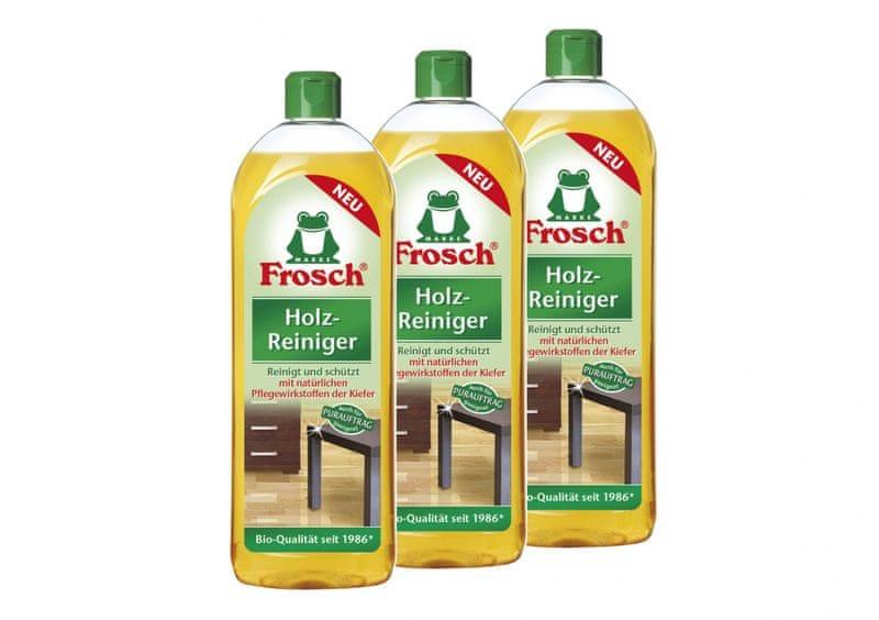 Frosch EKO 3x750ml čistič na dřevěné podlahy a povrchy