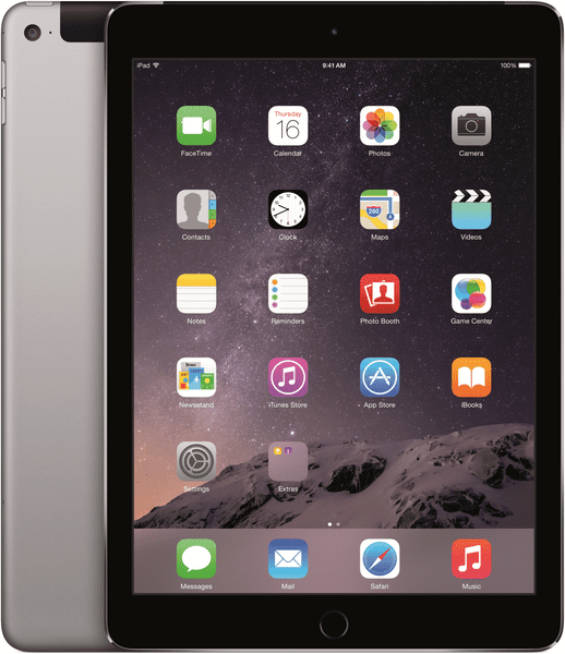 Apple iPad Air 2 Wi-Fi Cellular 32GB Space Gray (MNVP2FD/A)