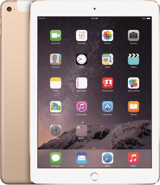 Apple iPad Air 2 Wi-Fi Cellular 16GB Gold (MH1C2FD/A)
