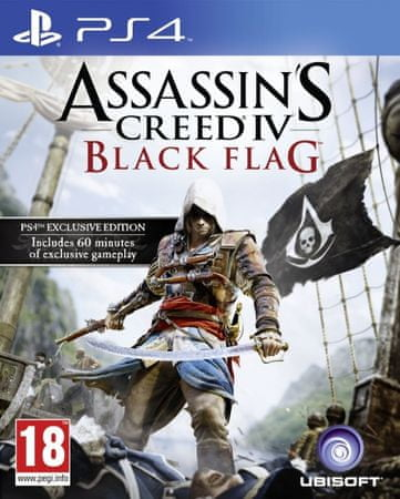 Ubisoft gra Assassin's Creed IV: Black Flag na konsolę Play Station 4
